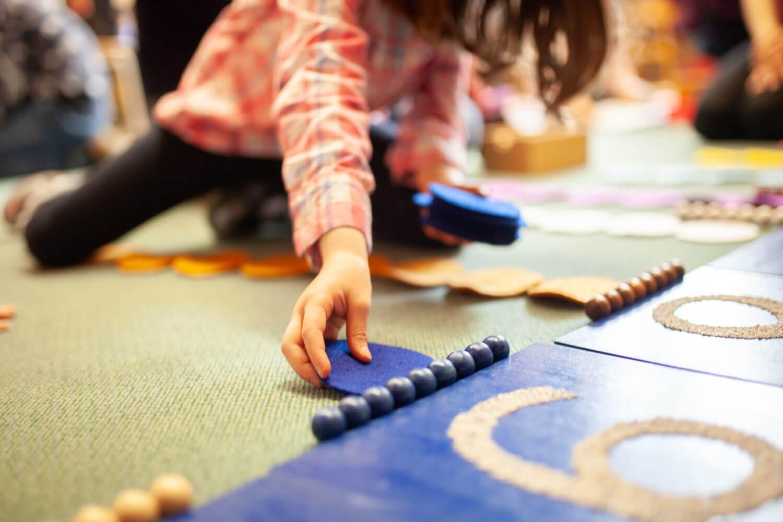 Lernen mit der Montessori Pädagogik