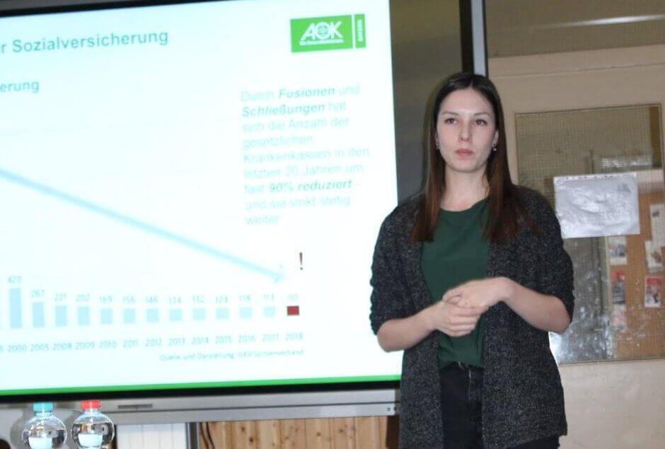 Lernen fürs Leben mit der AOK an der FOS
