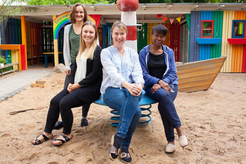 Team des Montessori-Kinderhauses