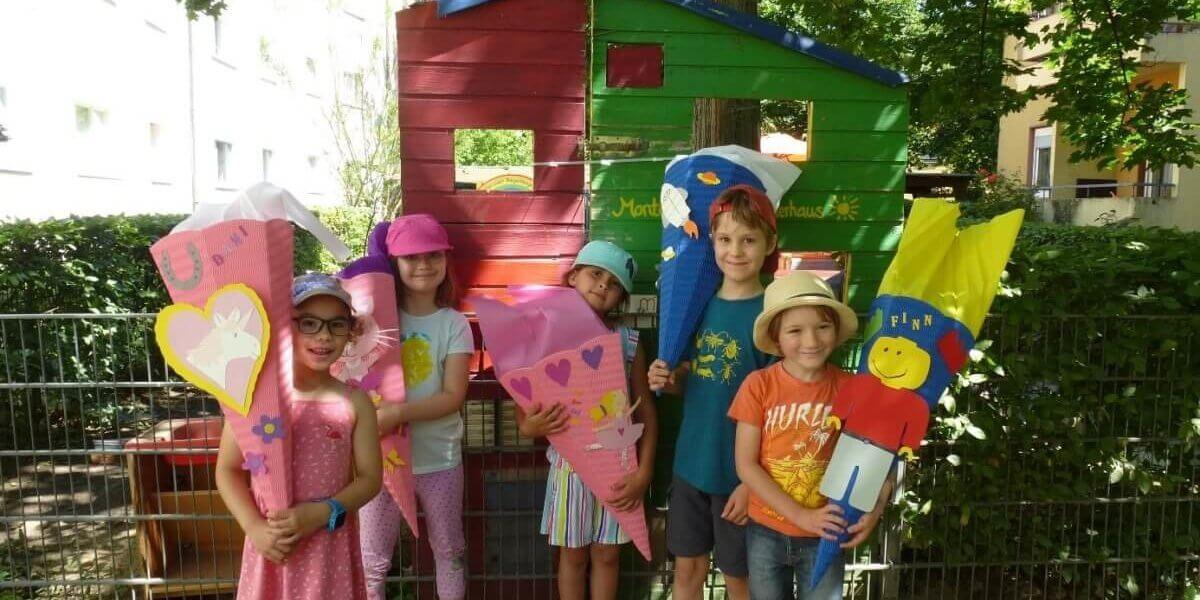 Rausschmeißerfest im Montessori-Kinderhaus